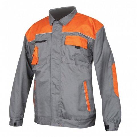 Monterková bunda 2STRONG, sivo-oranžová