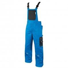 Nohavice na traky 4TECH, modro-čierne