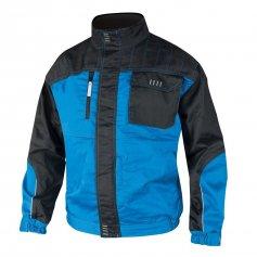 Pánska bunda 4TECH, modro-čierna