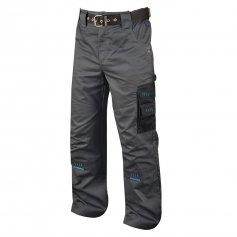 Predĺžené pánske nohavice 4TECH, sivo čierne