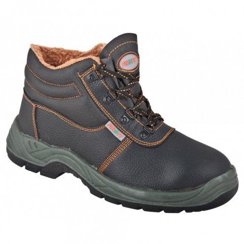 Členková obuv s oceľovou špicou FIRWIN S3, zimná