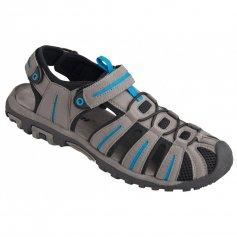 Sandále BEACH BLUE, sivo-modré