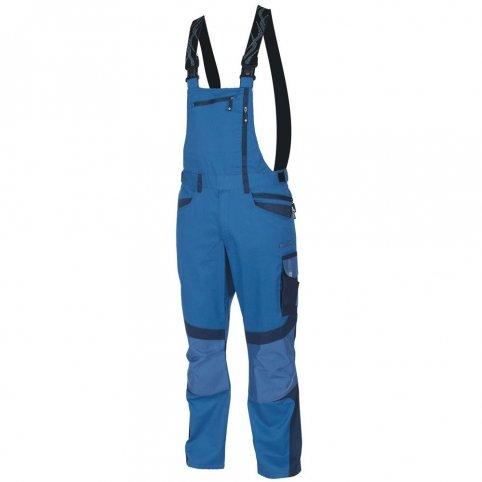 Nohavice na traky R8ED+, sv.modré-tm.modré