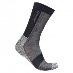 Antibakteriálne ponožky SILVER, čierno-sivé