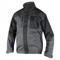 Pánska monterková bunda 4TECH, sivo čierna