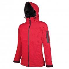 Dámska softshellová bunda ANIMA, červená