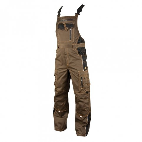 Monterkové nohavice na traky VISION, tarmac
