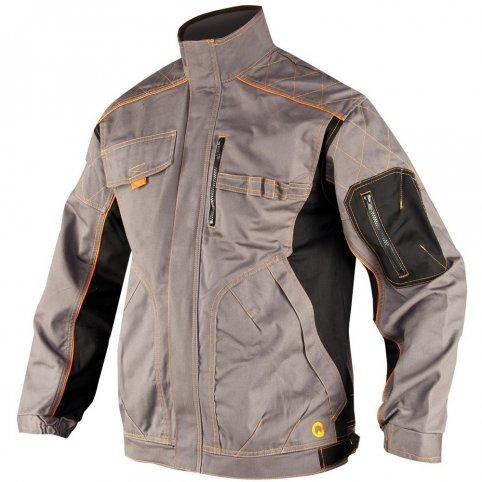 Monterková bunda VISION, sivo-čierna