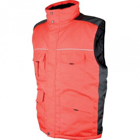 Pánska zimná vesta SWEN, červená