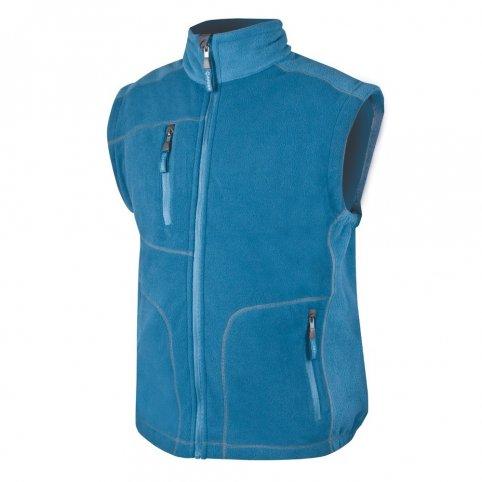 Pánska fleecová vesta MARTIN, modrá