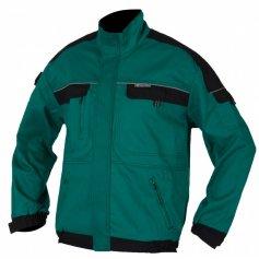 Predĺžená monterková bunda COOL TREND, zeleno-čierna