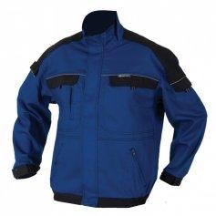 Predĺžená monterková bunda COOL TREND, modro-čierna
