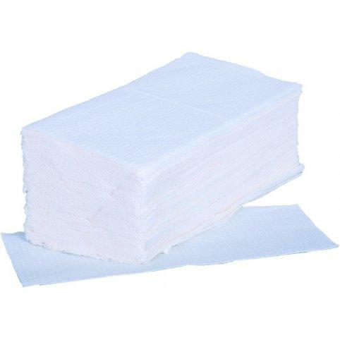 Papierové utierky ZZ, biele 3200 ks