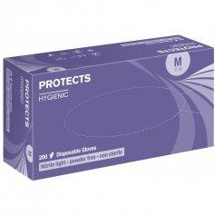 Rukavice PROTECTS HYGIENIC NITRILE