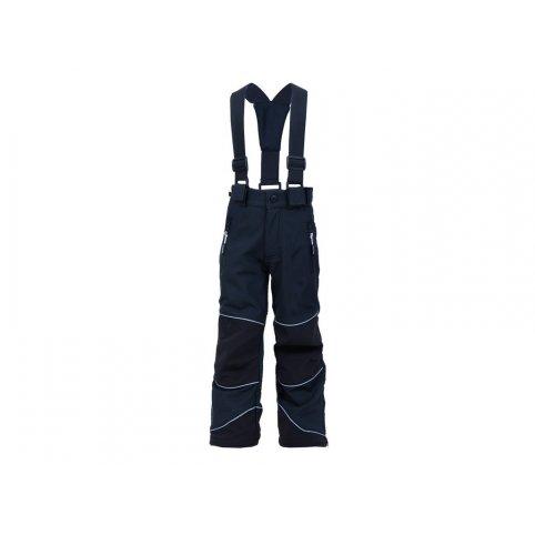 Detské softshellové nohavice DRAGONFLY, čierne