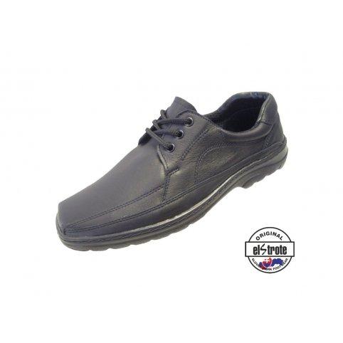 Manažérska pracovná obuv - Office - 91100, čierna