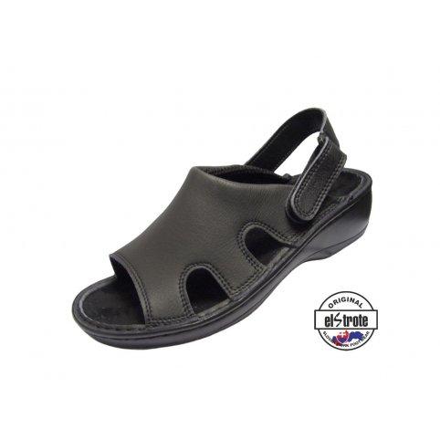 Zdravotná pracovná obuv HEALTHY, dámska - 91 102 f.60, čierna