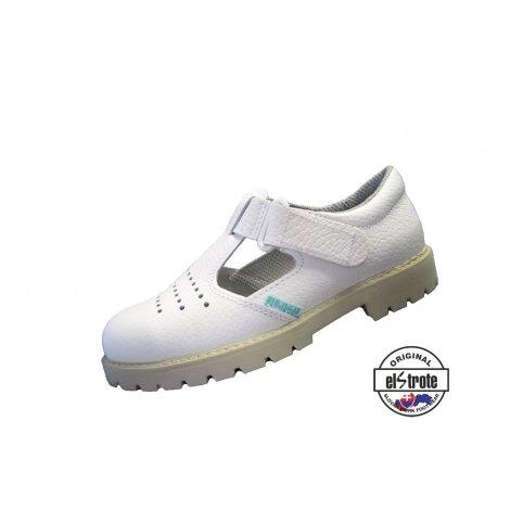 109edd63df604 Zdravotná pracovná obuv CLASSIC, sandále - 91 502 PIO f.10, biele