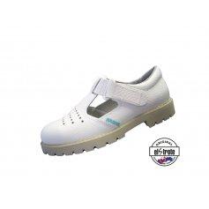 Zdravotná pracovná obuv CLASSIC, sandále - 91 502 PIO f.10, biele