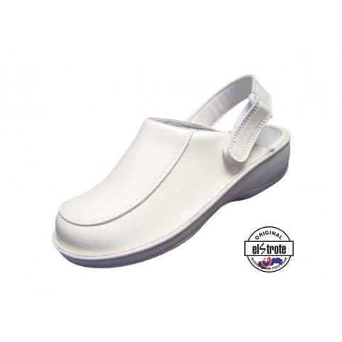 Zdravotná pracovná obuv HEALTHY, dámska - 91 112 A f.10, biela