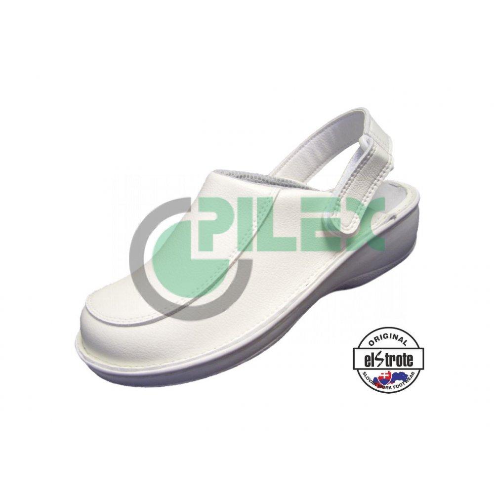f283fe128ec5d Zdravotná pracovná obuv HEALTHY, dámska - 91 112 A f.10, biela