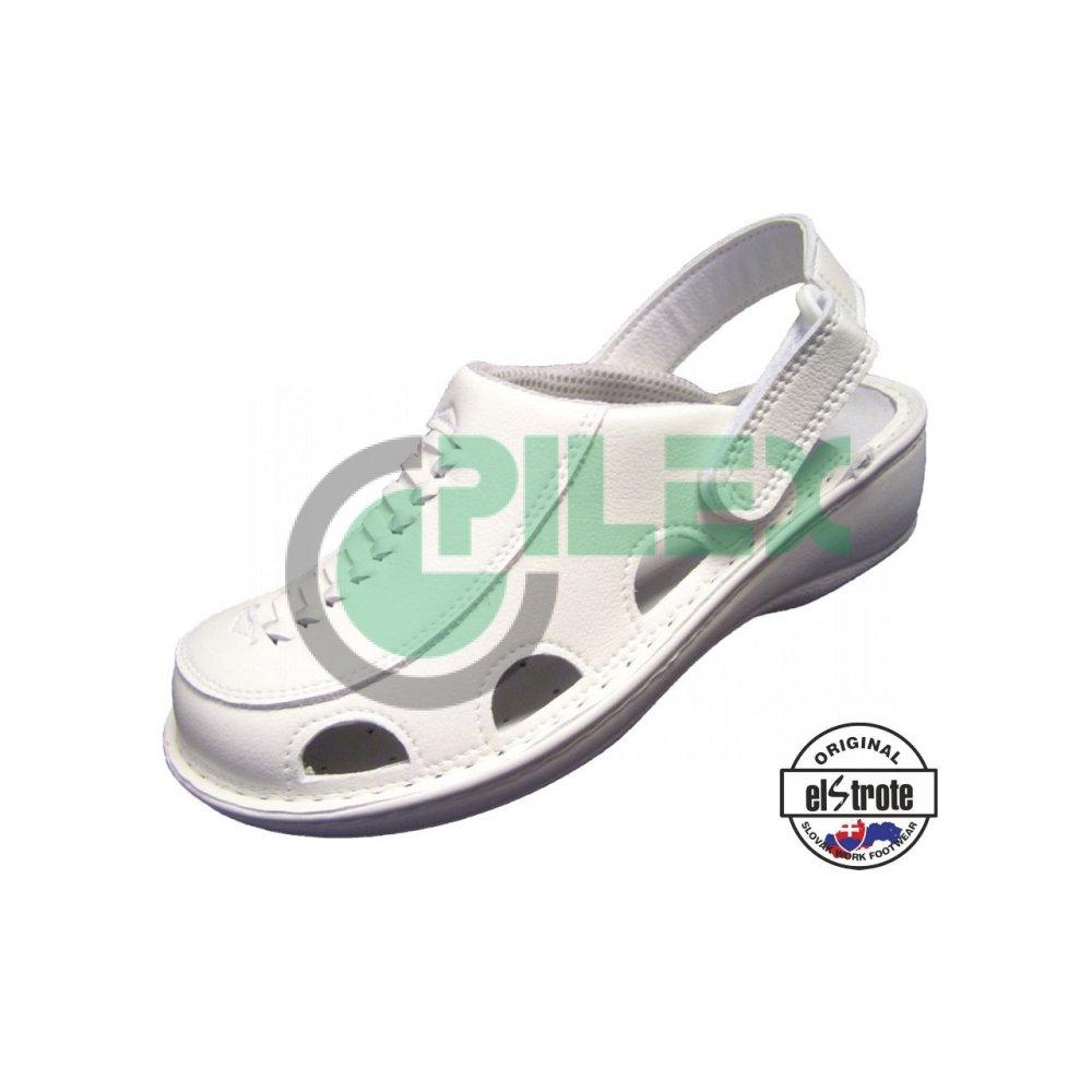 39ff70737eae7 Zdravotná pracovná obuv HEALTHY, dámska - 91 112 C f.10, biela