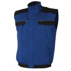 Monterková vesta COOL TREND, modro-čierna