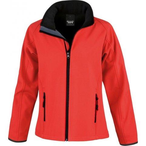 Dámska softshellová bunda RESULT 231F, červená