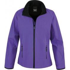 Dámska softshellová bunda RESULT 231F, fialová