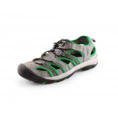 Sandále SAHARA, sivo-zelené