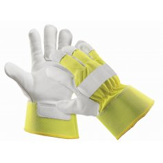 Kombinované zateplené rukavice CURLEW WINTER, žlté