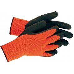 Zateplené rukavice PALAWAN WINTER, pletené, oranžové
