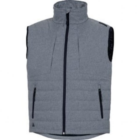 Pánska zateplená vesta PESARO, sivá