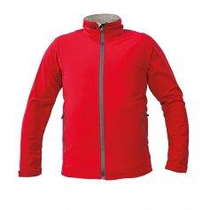 Pánska softshellová bunda NAMSEN MAN, červená