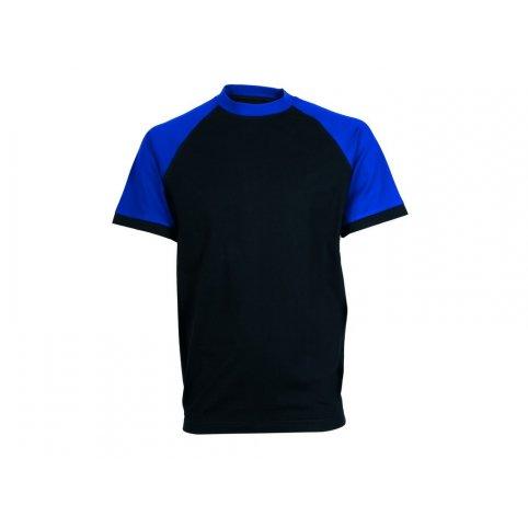 Tričko s krátkym rukávom OLIVER, čierno-modré