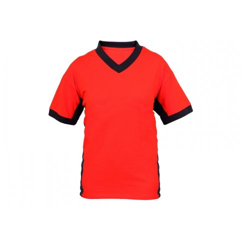 Pánske tričko s krátkym rukávom SIRIUS THERON, oranžovo-sivé
