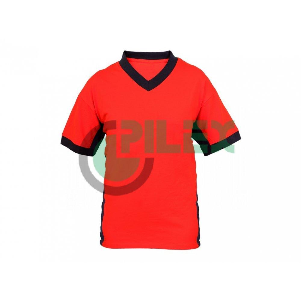 cb3fb277a Pánske tričko s krátkym rukávom SIRIUS THERON, oranžovo-sivé
