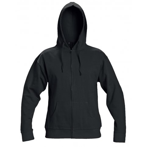 Mikina NAGAR s kapucňou, čierna