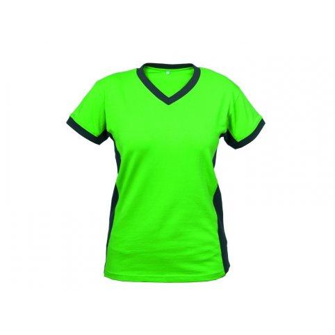 Dámske tričko s krátkym rukávom SIRIUS THEA, zeleno-sivé