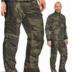 Pánske nohavice CRAMBE, maskáčové