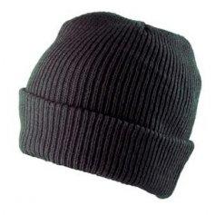 Zimná čiapka CARL, čierna