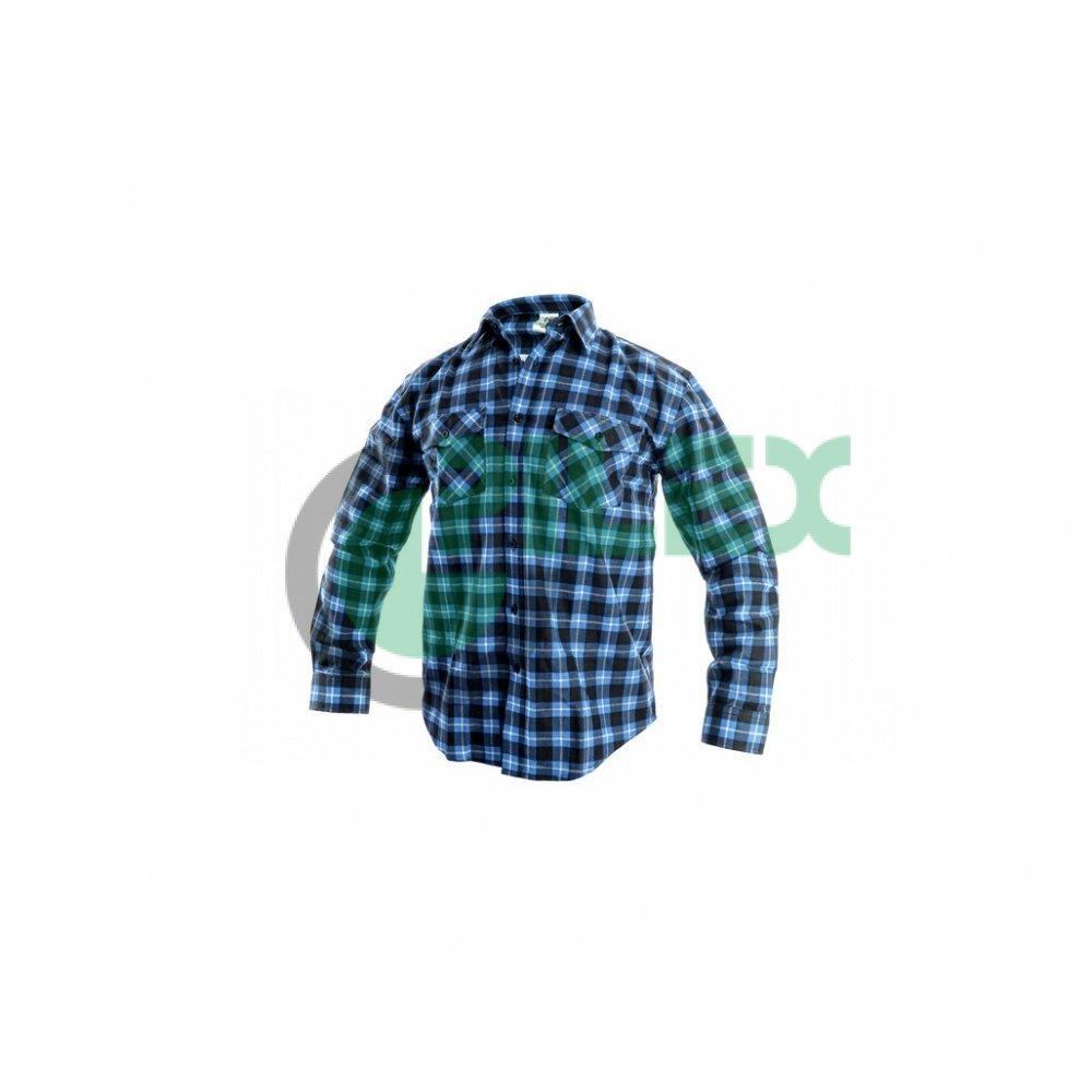 473d7720847c Pánska košeľa s dlhým rukávom TOM