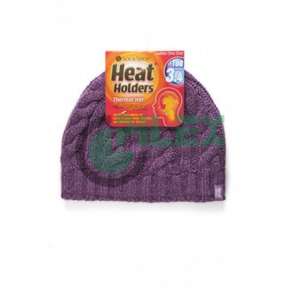 392c3ce35 HEAT HOLDERS dámska zimná čiapka s termo podšívkou HEATWEAVER fialová