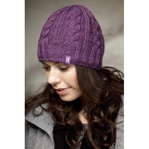 Dámska zimná čiapka HEAT HOLDERS, fialová