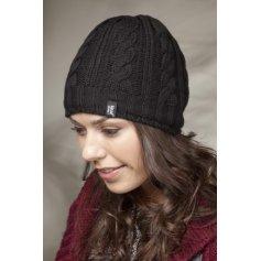 HEAT HOLDERS dámska zimná čiapka s termo podšívkou HEATWEAVER čierna