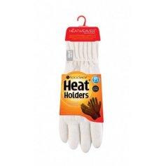 HEAT HOLDERS dámske zimné rukavice s termo podšívkou HEATWEAVER krémové