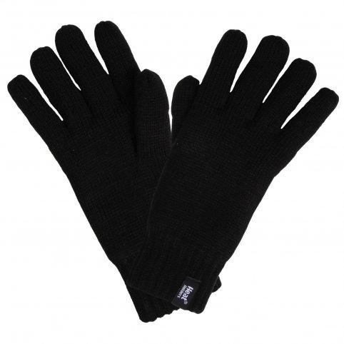 HEAT HOLDERS pánske zimné rukavice s termo podšívkou HEATWEAVER čierne