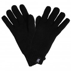 HEAT HOLDERS pánske zimné rukavice s termo podšívkou HEATWEAVER, čierne