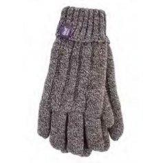HEAT HOLDERS dámske zimné rukavice s termo podšívkou HEATWEAVER hnedé