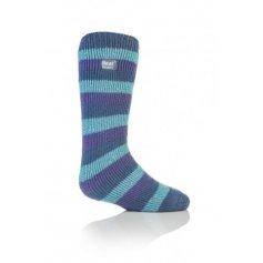 HEAT HOLDERS detské termo ponožky,svetlo modré